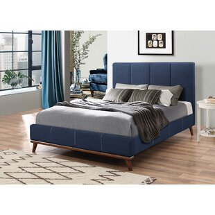 Langley Street Bainum Upholstered Panel Bed