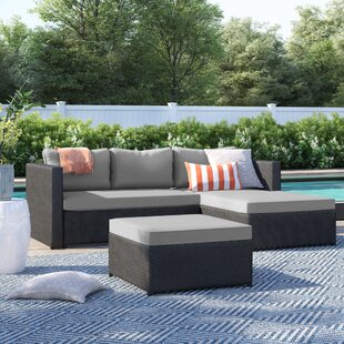 Calla Patio Sectional with Cushions