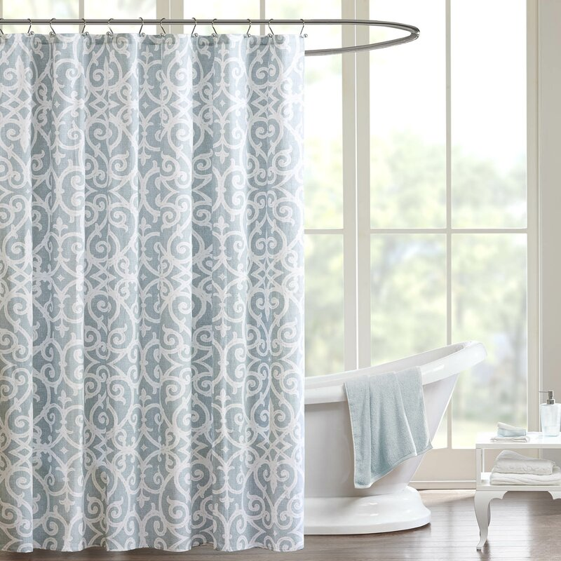 Defino Cotton Single Shower Curtain Reviews