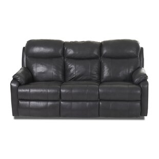 Torrance Reclining Sofa with Headrest and Lumbar Support by Red Barrel Studio