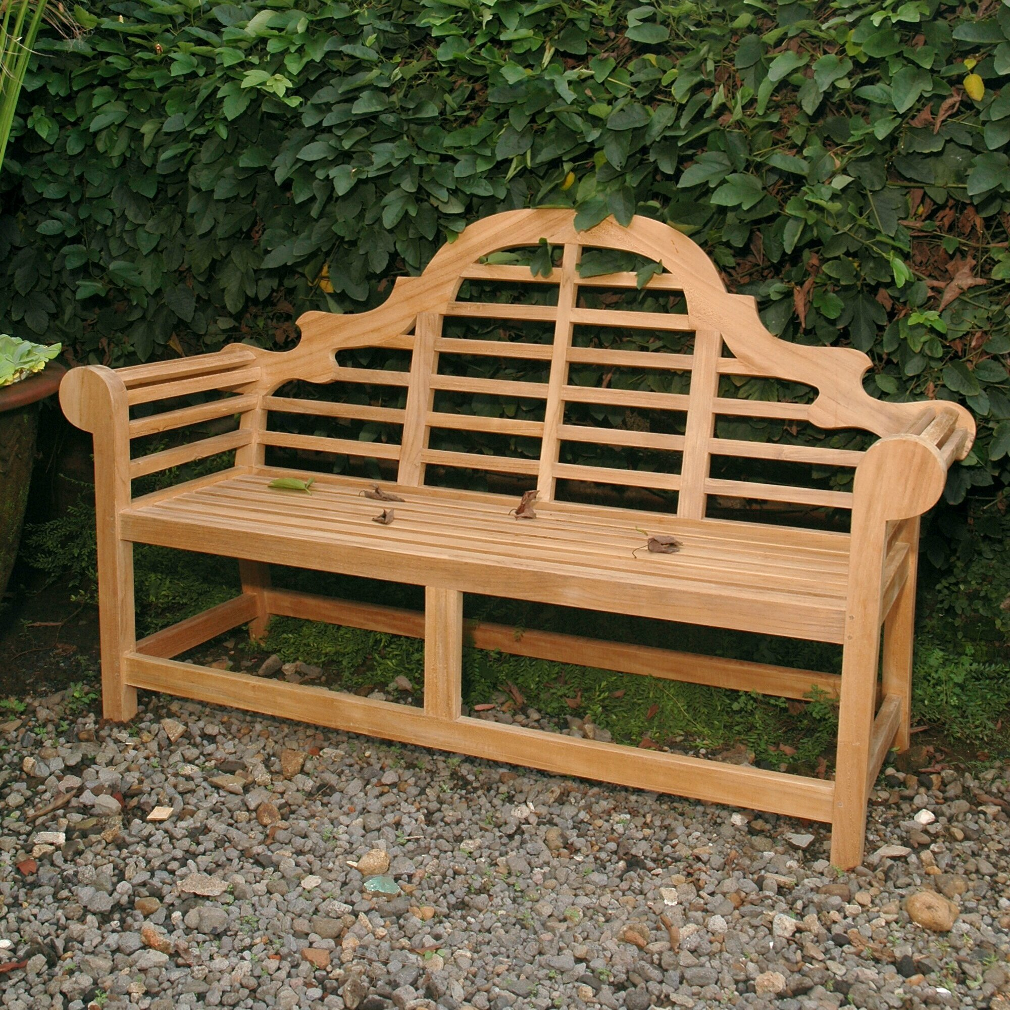 Anderson Teak Marlborough Teak Garden Bench | Wayfair