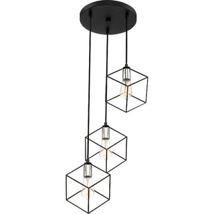 Theodorus 3-Light Cluster Pendant by Wrought Studio
