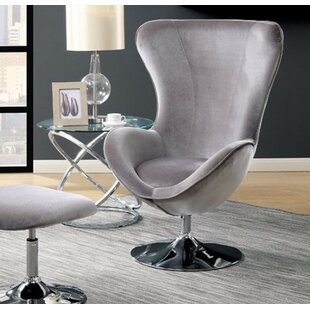 Mateo Wingback Chair and Ottoman
