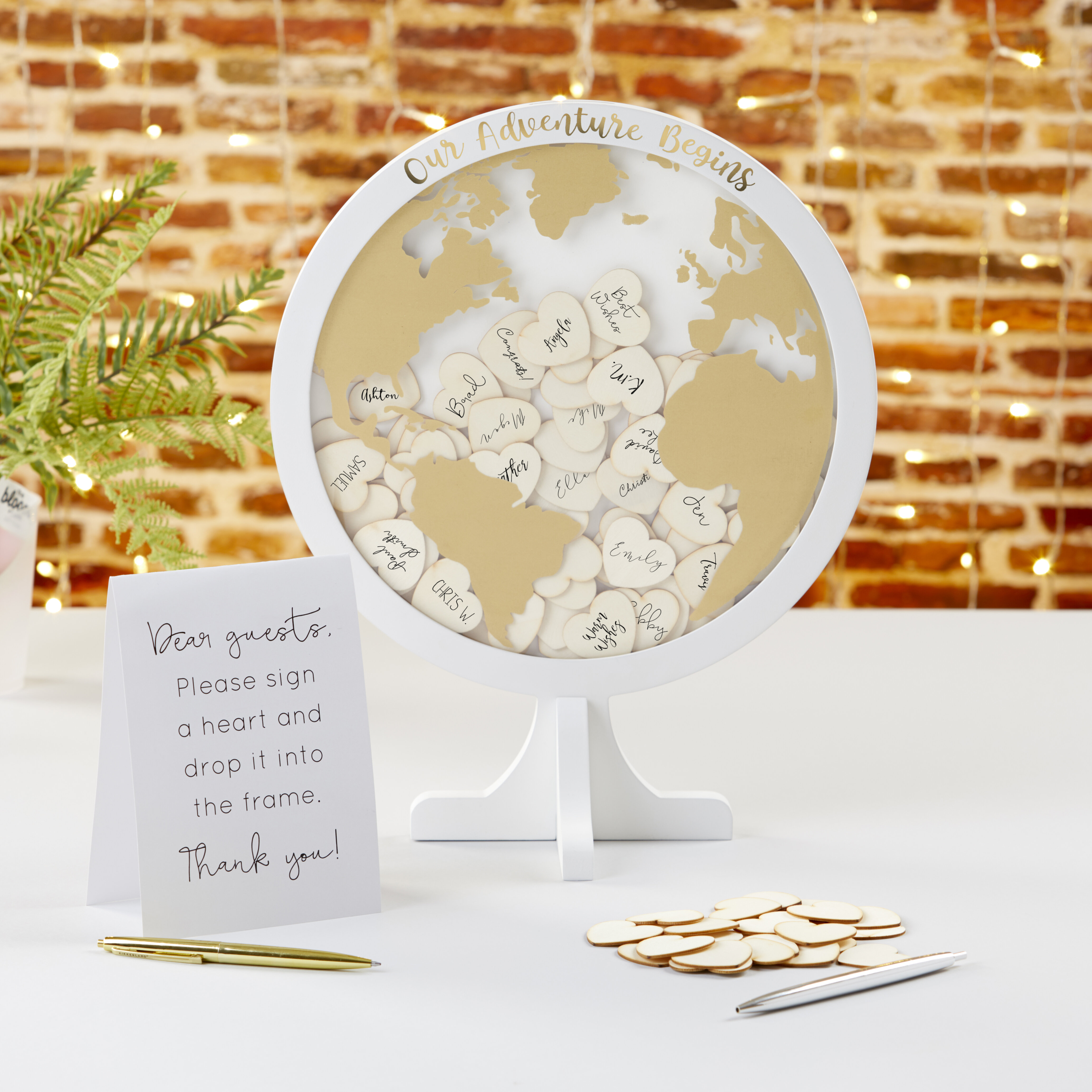 Wedding Sign Guestbook Sign Globe Guestbook Printable Sign our Globe Template