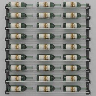 VintageView Evolution Series 27 Bottle Wall Mounted Wine Rack