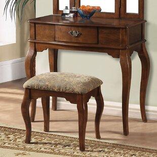 A&J Homes Studio Marane Oak Vanity Set