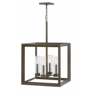 Rhodes Single Tier 4-Light Outdoor Pendant