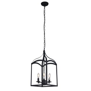 Offerman 3-Light Lantern Chandelier by Ch..