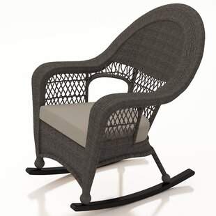 Catalina Rocking Chair With Cushion by Forever Patio Great price