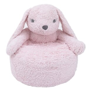Webster Cuddle Plush Kids Chair by Harriet Bee