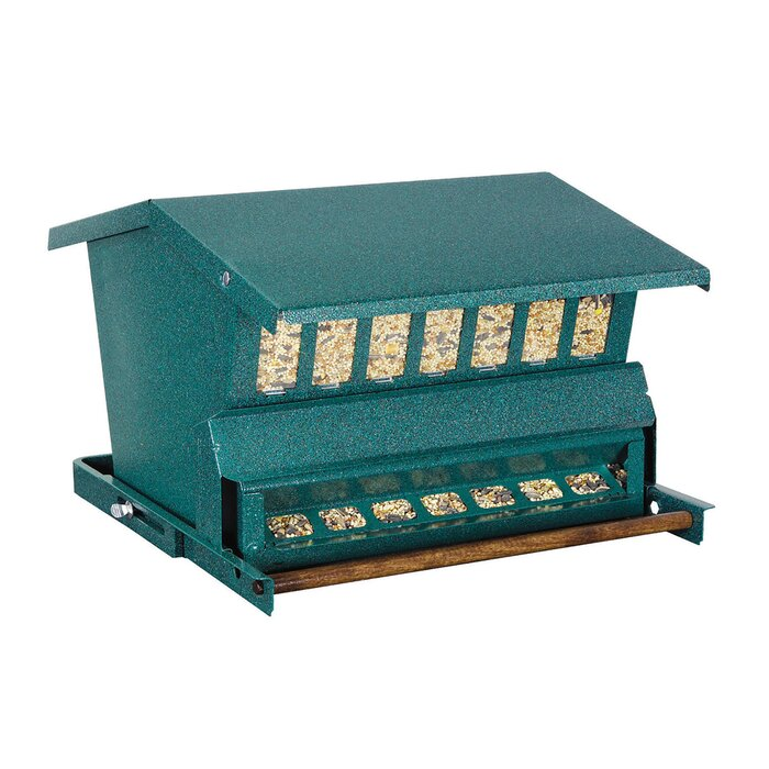 Absolute Squirrel Proof Hopper Bird Feeder