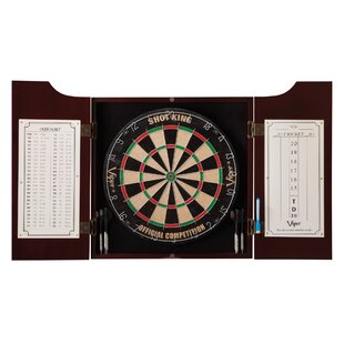 Hudson All-in-One Dartboard and Cabinet Set (Wayfair Exclusive) By Viper
