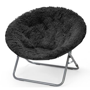 Poyen Faux Fur Papasan Chair