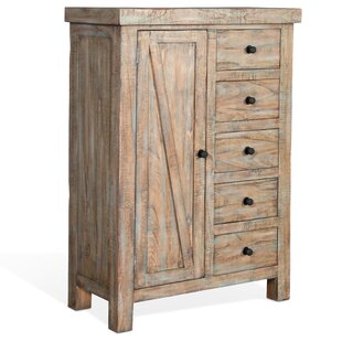 Loon Peak Herman 5 Drawer Gentleman's Chest