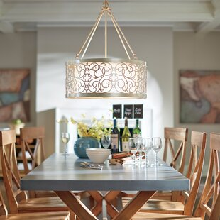Willa Arlo Interiors Barrigan 4-Light Pendant
