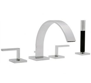 Rohl Modern Double Handle Deck Mount Roma..