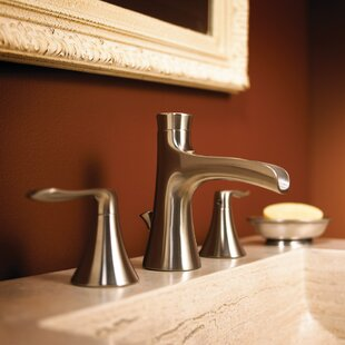 Caspian Widespread Bathroom Faucet with Optional Pop-Up Drain Assembly By Speakman