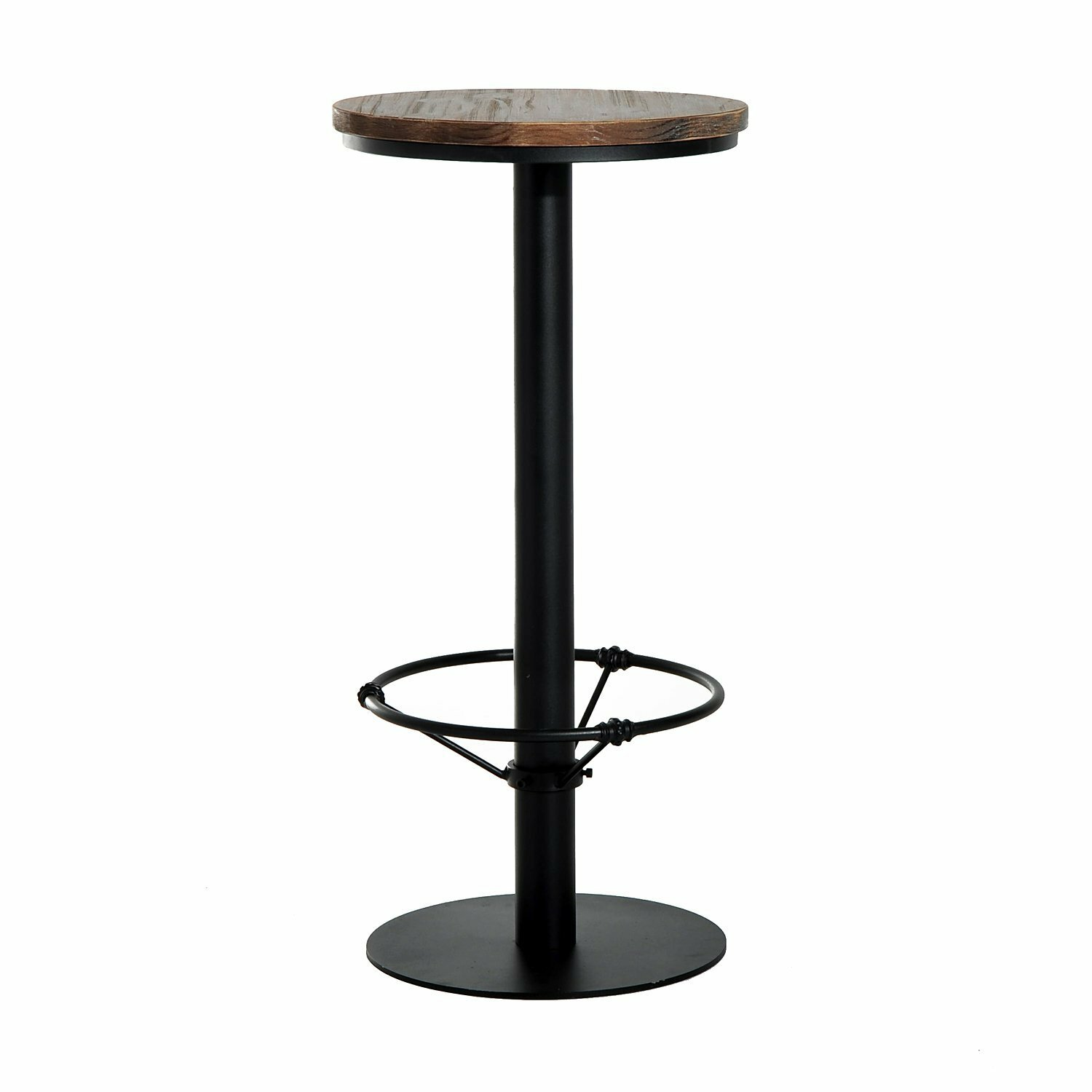 Astounding Liesel Bar Height Standing Pub Table With Wood Top Theyellowbook Wood Chair Design Ideas Theyellowbookinfo