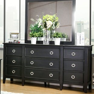 Newstead 9 Drawer Double Dresser by Red Barrel Studio