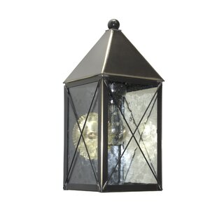 Michaela Outdoor Wall Lantern by Longshore Tides
