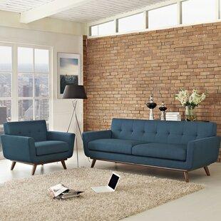 Saginaw 2 Piece Living Room Set