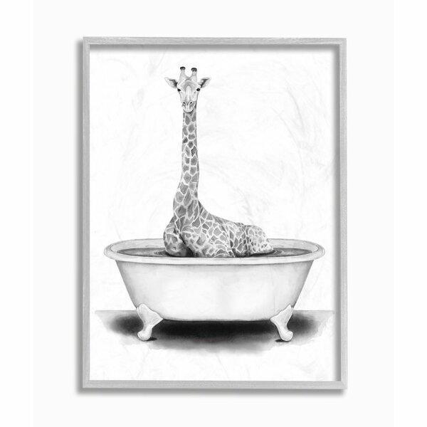 Giraffe Bathroom Decor Wayfair