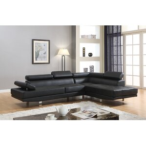 Dimitri Sectional by Roundhill Furniture