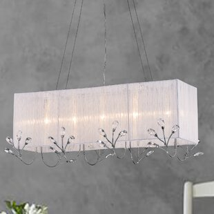 House of Hampton Cuckfield 5-Light Square/Rectangle Chandelier
