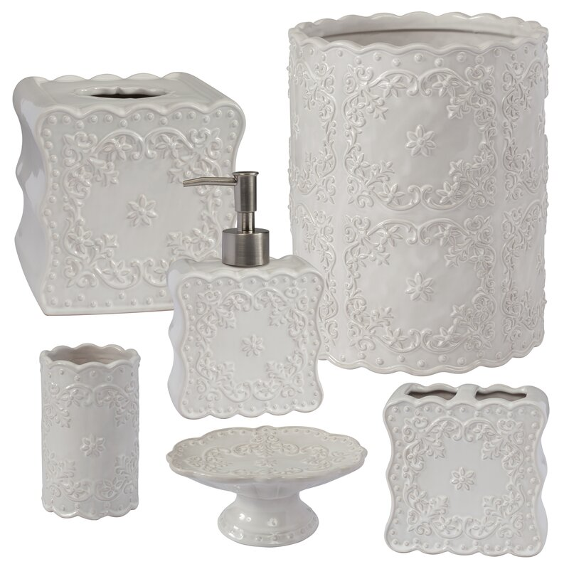 Dakotah 6 Piece Bathroom Accessory Set