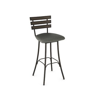 Bax 30.75 Swivel Bar Stool Brayden Studio