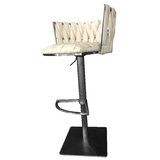 Doory Adjustable Swivel Bar Stool by Ivy Bronx