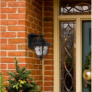 Deals Marquette 1-Light Outdoor Wall Lantern By Designers Fountain