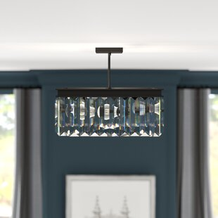 Hebron 2-Light Semi Flush Mount by Greyleigh