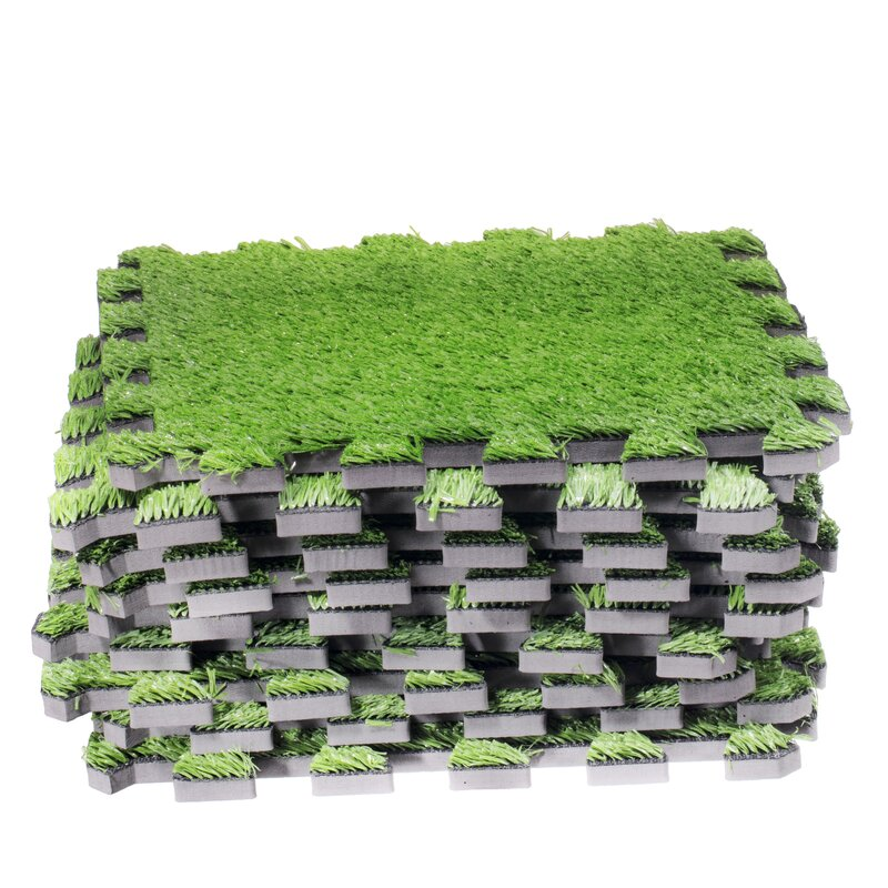 Interlocking Artificial Grass Deck 12