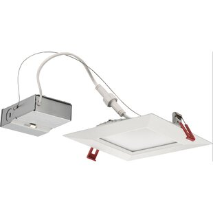 Bargain Ultra Thin 6 LED Recessed Lighting Kit By Lithonia Lighting