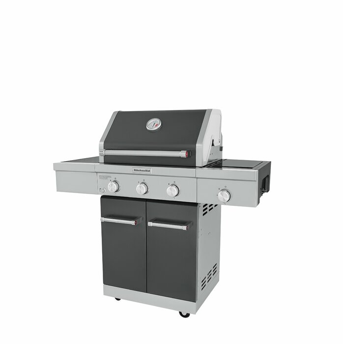 3-Burner Convertible Gas Grill