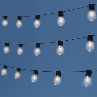 Touch of ECO Socialite 10-Light Globe String Light