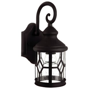 Price Check Stockton 1-Light Outdoor Wall Lantern By Charlton Home