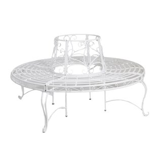 Bonview Iron Tree Seat By August Grove