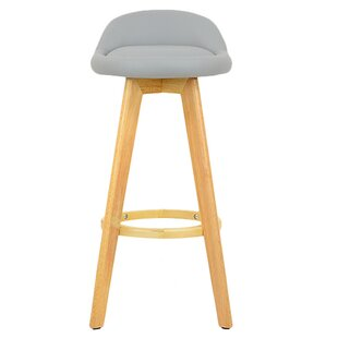 Wooden 74cm Swivel Bar Stool By Norden Home