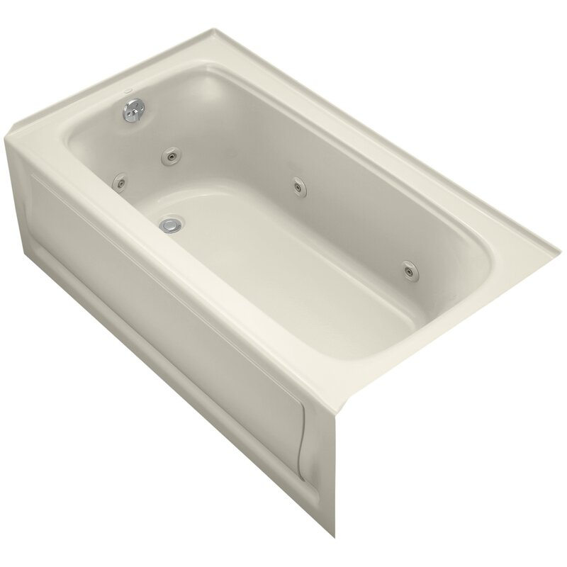 K-1151-LAW-0,47,96 Kohler Bancroft Alcove Whirlpool Bath with Tile ...