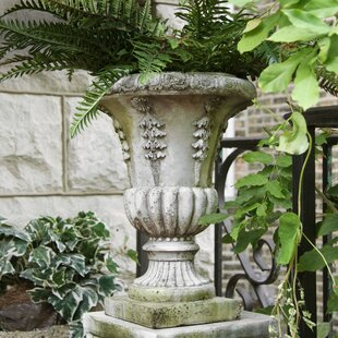 Home & Garden Garden Décor Loyal Large Pair Of Vintage French Decorative Garden Urns Always Buy Good