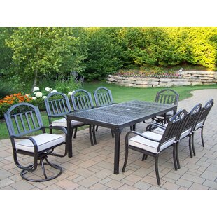 Red Barrel Studio Lisabeth 7 Piece Dining Set with Cushions