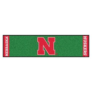 NCAA University of Nebraska Putting Green Doormat