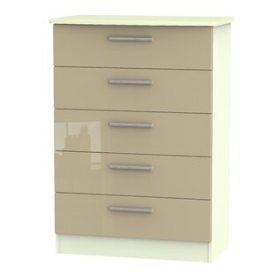 Yvette 5 Drawer Chest By 17 Stories