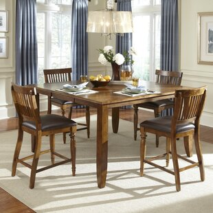 Delphina 5 Piece Counter Height Dining Set American Heritage