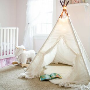 Isabella Pop-Up Play Teepee By Sugar Shacks Teepees