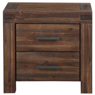 Olsson Wooden 2 Drawer Nightstand by Williston Forge