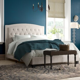 Pascal Upholstered Panel Bed by Andover Mills