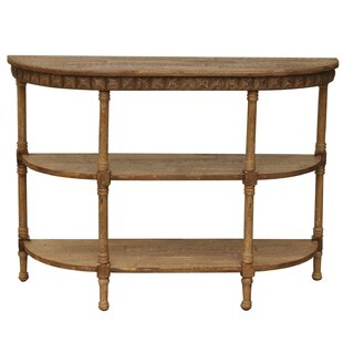 Crestview Collection Cheyenne Demilune Console Table